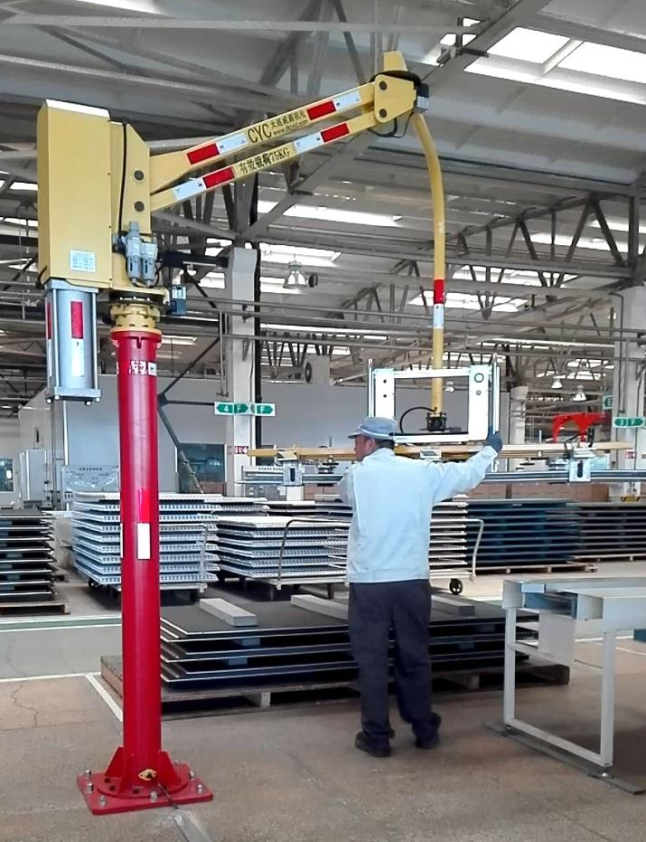 气动助力机械手-外资企业客户易损工件搬运用机械手