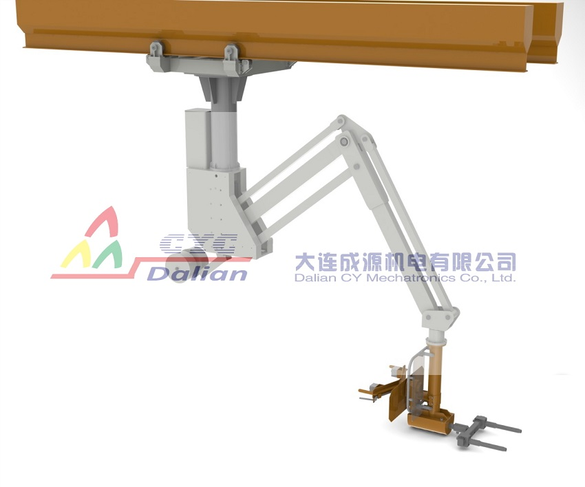 悬吊式可移动浇铸机械手