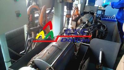 精密加工件辊压清洗系统-日系客户工厂
